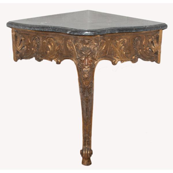 console d'angle Louis XV