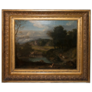 paysage-bord-lac-a-meijering-date-1684