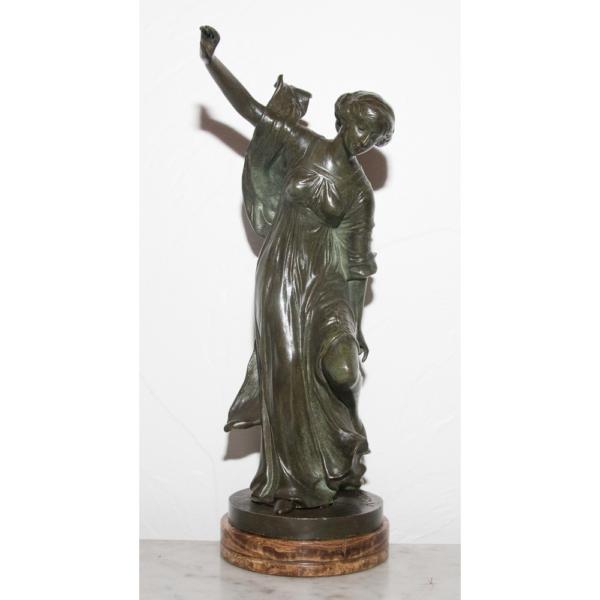 "Bronze ""la Danseuse"" Henri Levasseur Circa 1920"