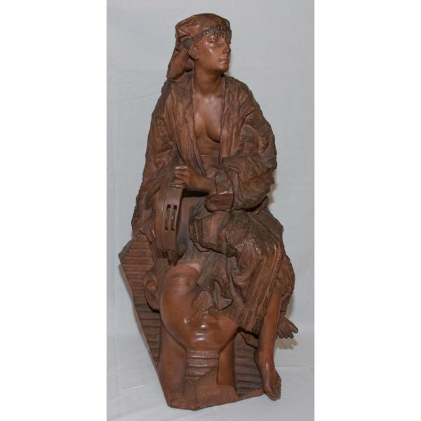 Aïda Terre Cuite - Gaston Leroux (1854-1942)