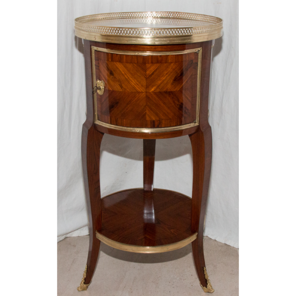 Table Tambour Style Transition Circa 1830