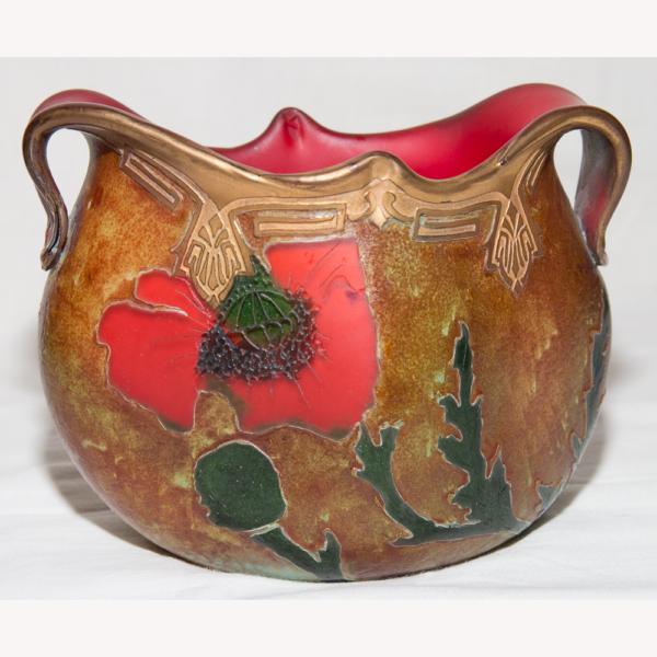 Vase modèle Indiana de François-Théodore LEGRAS (1839-1916)