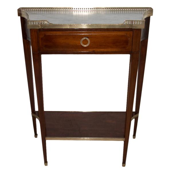 Console d'Entre Deux En Acajou Style Directoire Circa 1900