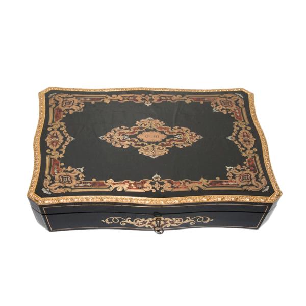 Coffret à jeux de la Maison Tahan, époque Napoléon III