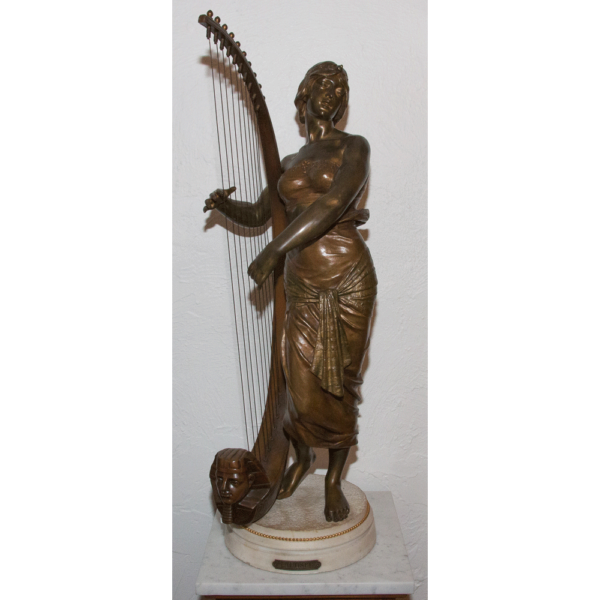 La joueuse de harpe égyptienne Georges Charles COUDRAY 1862-1932