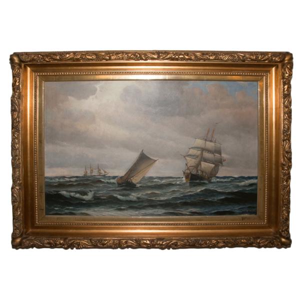 Grande Marine Vilhelm Bille (1864-1908)